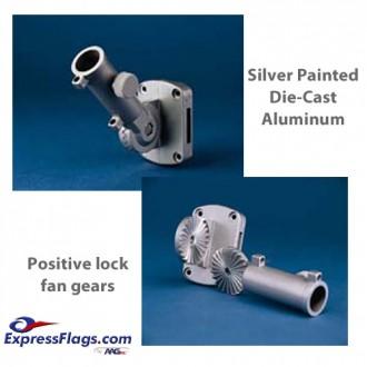 Ultimate Adjustable Aluminum Bracket - Silver310043