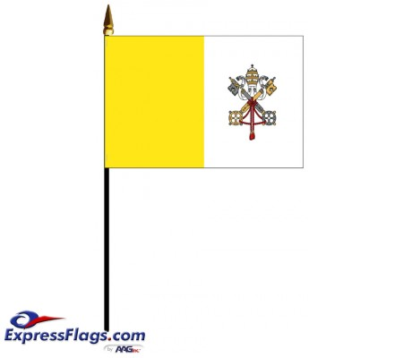 Vatican City (Papal) Mounted Flags