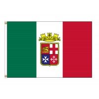 Italy Ensign Nylon Flags