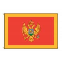 Montenegro Nylon Flags (UN Member)