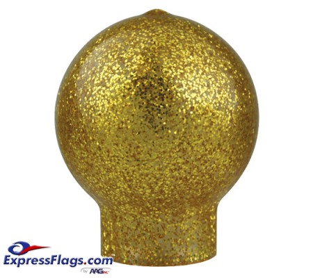 Vinyl Slip Fit Ball Ornament for Indoor Display FlagpolesVB