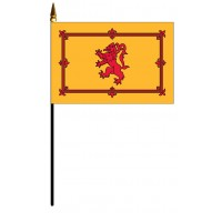 Scotland Lion Mounted Flags