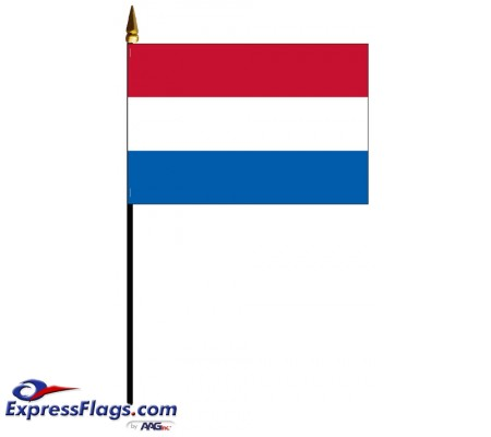 Netherlands Mounted Flags