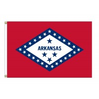 Nylon Arkansas State Flags
