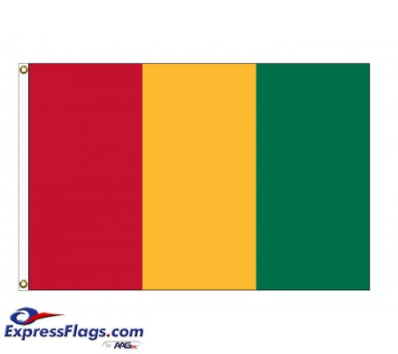 Guinea Nylon Flags (UN Member)GIN-NYL