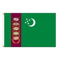 Turkmenistan Nylon Flags (UN Member)