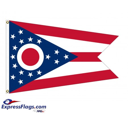 Poly-Max Ohio State FlagsOH-PM