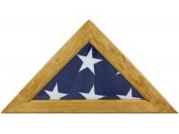 Maple Memorial Flag Case - Fits 5' x 9-1/2' Flag