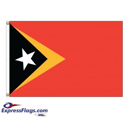 East Timor Nylon Flags - (UN Member)TLS-NYL