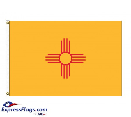 Nylon New Mexico State FlagsNM-NYL