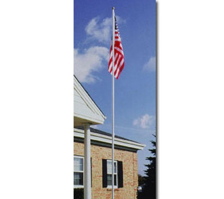 18 ft. Colonial Aluminum Flagpole Sets320042-G