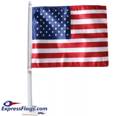 U.S. Auto Window Flag Set010252
