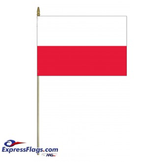 Poland Mounted Flags