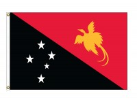Papua New Guinea Nylon Flags (UN Member)