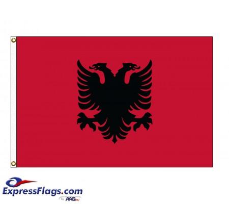 Albania Nylon FlagsALB-NYL