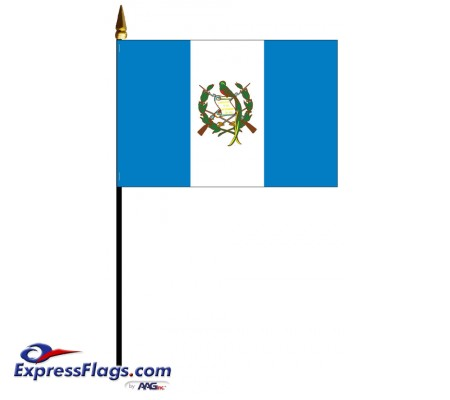 Guatemala Mounted Flags031769