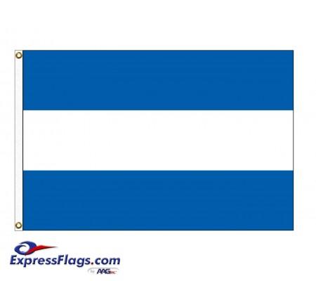 El Salvador Nylon Flags - (No Seal)SLV-NYL-2