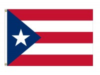 Nylon Puerto Rico Flags
