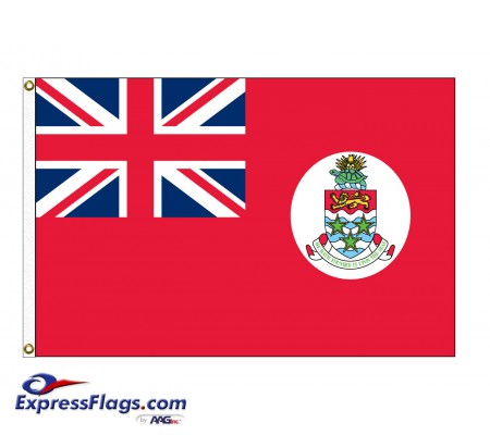 Cayman Islands (Red) Nylon FlagsCYM-NYL-2