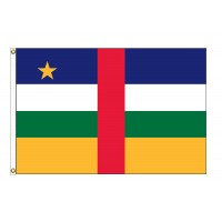 Central African Republic Nylon Flags  (UN Member)