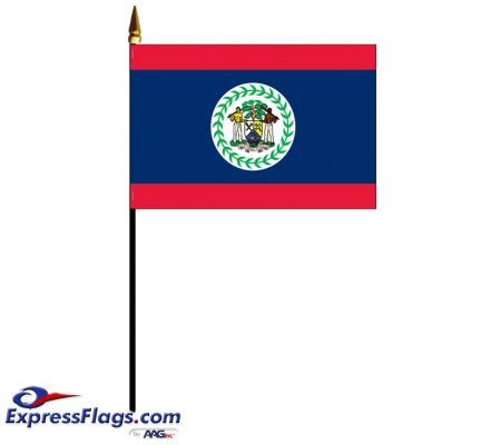 Belize Mounted Flags030468
