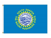 Nylon South Dakota State Flags