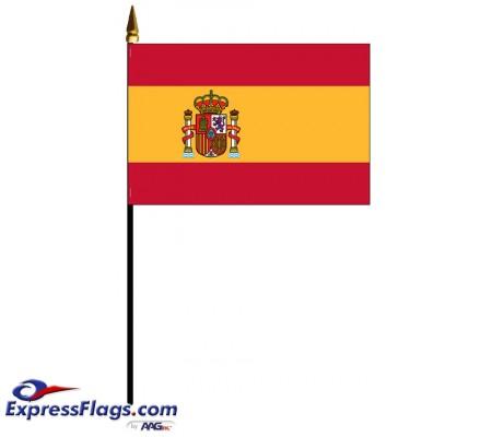Spain Mounted FlagsESP-MTD