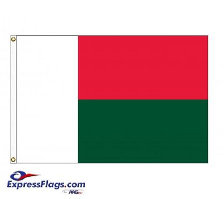 Madagascar Nylon Flags (UN Member)MDG-NYL