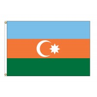Azerbaijan Nylon Flags  (UN Member)