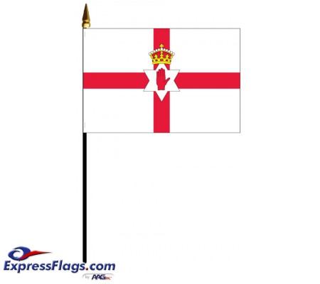 Northern Ireland Mounted Flags - 4in x 6in035825