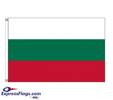 Bulgaria Nylon Flags (UN Member)BGR-NYL