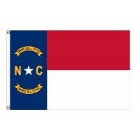 Nylon North Carolina State Flags