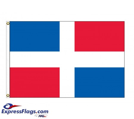 Dominican Republic Nylon Flags - (No Seal)DOM-NYL-2