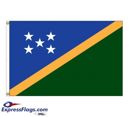 Solomon Islands Nylon Flags (UN Member)SLB-NYL