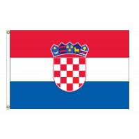 Croatia Nylon Flags  (UN Member)