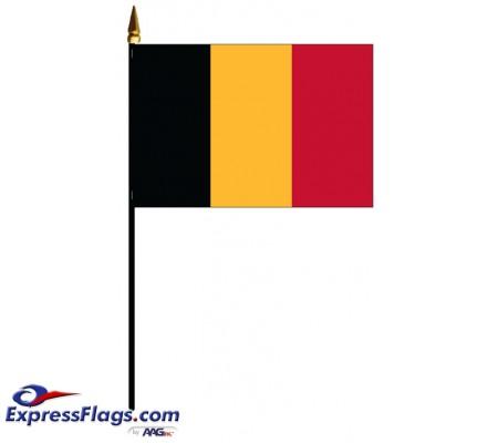 Belgium Mounted Flags