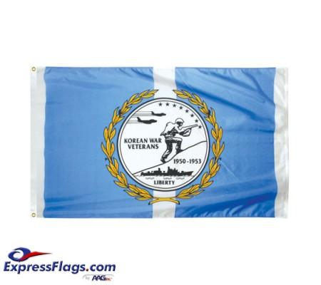 Korean War Veterans Commemorative Flags - 3  x 5070239