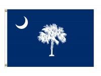 Nylon South Carolina State Flags