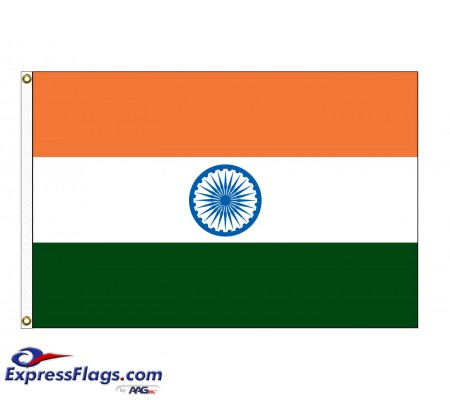 India Nylon Flags (UN Member)IND-NYL