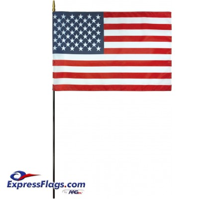 Endura-Gloss U.S. Stick Flags - Made in USAEG-USSF