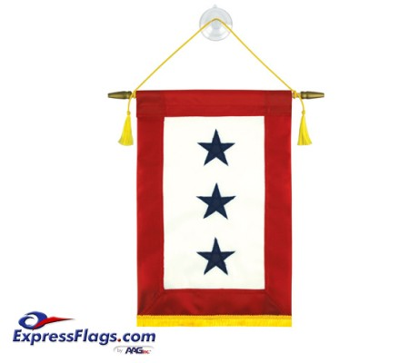 Blue Star Service Banners - 3 StarsBlue-Star-3
