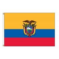 Ecuador Nylon Flags - (UN, OAS Member)