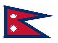 Nepal Nylon Flags (UN Member)