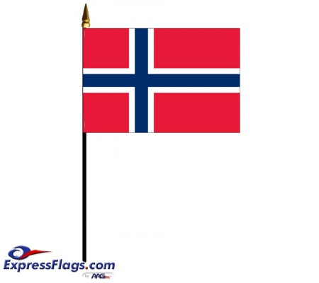 Norway Mounted Flags