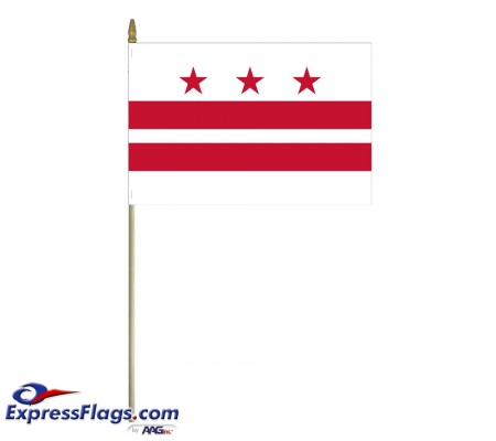 Mounted District of Columbia Flags