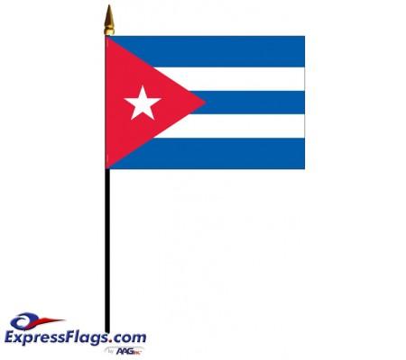 Cuba Mounted FlagsCUB-MTD