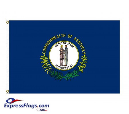 Nylon Kentucky State FlagsKY-NYL