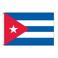 Cuba Nylon Flags  (UN, OAS Member)