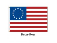 Printed Nylon - Betsy Ross American Historical Flags