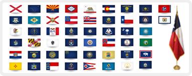 U. S.  State Flags, U.S. Territory Flags